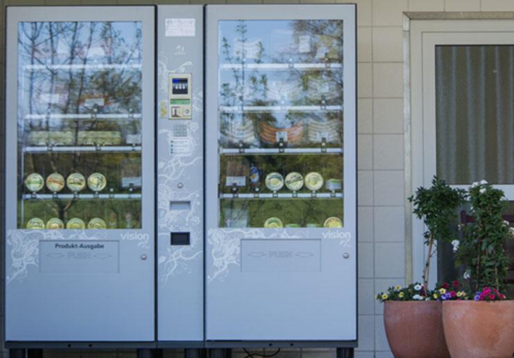 Unser Automat hat 24h an 7 Tagen für Sie geöffnet.